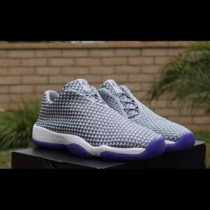 4da89dcf5d5b Jordan Shoes - Air Jordan Future Low Girls Shoes Wolf Grey Purple